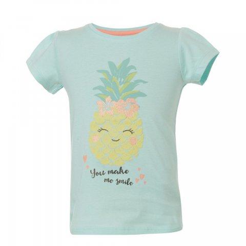 Energiers Μπλούζα Κορίτσι τύπωμα ανανάς (Φυστικί)