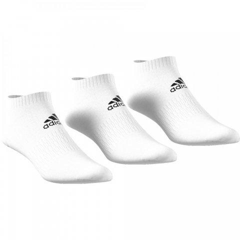 ADIDAS CUSH LOW 3PP WHITE/WHITE/WHITE