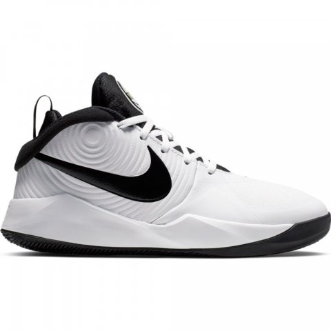 Nike Team Hustle D 9 GS WHITE