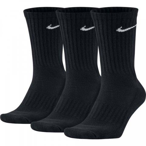Unisex Nike Cushion Crew Training Sock (3 Pair) BLACK