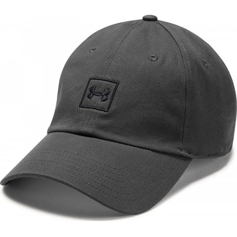 UA Washed Cotton Cap Graphite