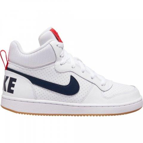 Nike Court Borough Mid (GS) Shoe white