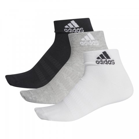 ADIDAS LIGHT ANK 3PP MGREYH/WHITE/BLACK
