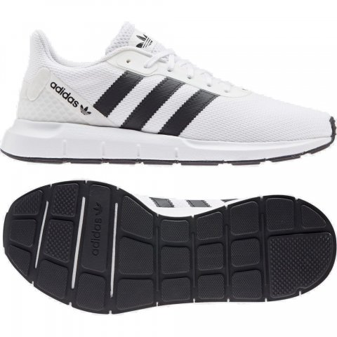 ADIDAS SWIFT RUN RF FTWWHT/CBLACK/FTWWHT