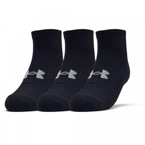 UA Training Cotton Locut Socks - Black