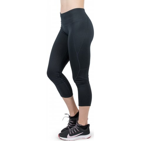 BODY ACTION WOMEN MID RISE 7/8 LEGGING - BLACK