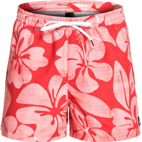 Quiksilver Hau Volley 15 - White/Red