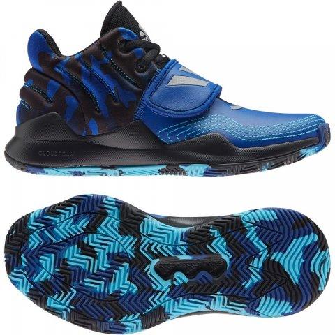 Adidas Deep Threat J ROYBLU/CBLACK/CONAVY