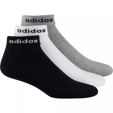 ADIDAS HC ANKLE 3PP BLACK/WHITE/MGREYH
