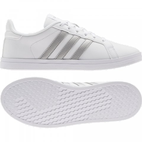 ADIDAS COURTPOINT FTWWHT/SILVMT/DOVGRY