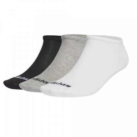 Adidas Low Cut 3PP MGREYH/WHITE/BLACK