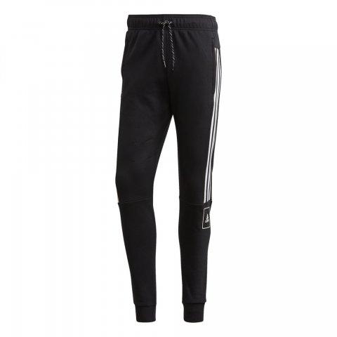 ADIDAS M 3S Tape Pants BLACK/WHITE
