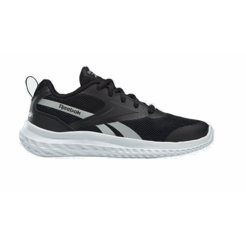 REEBOK RUSH RUNNER BLACK/WHITE/SILVMT