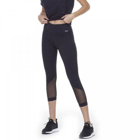 BODY ACTION WOMEN 7/8 LEGGINGS - BLACK