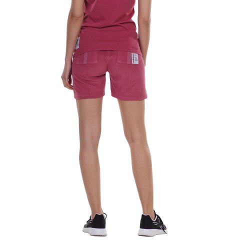 BODY ACTION WOMEN'S TERRY SHORTS PINK
