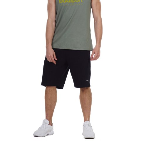 BODY ACTION MEN'S REGULAR FIT BERMUDA BLACK