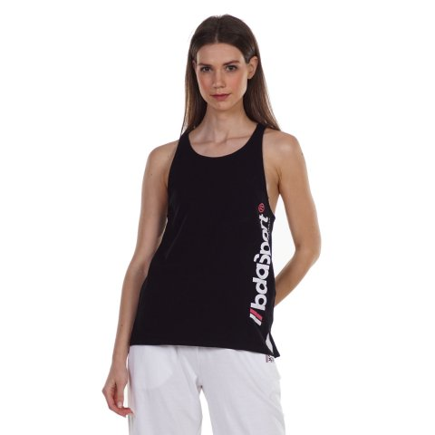 BODY ACTION WOMEN'S WORKOUT VEST BLACK