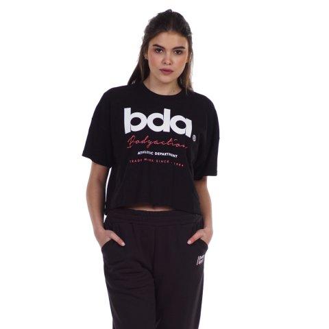 BODY ACTION WOMEN'S CROP TOP BLACK