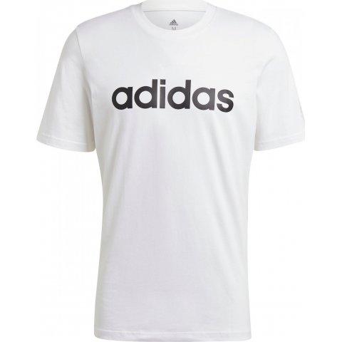 ADIDAS M LIN SJ T WHITE/BLACK