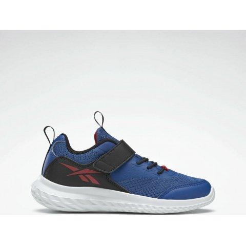 Reebok Rush Runner 4 Shoes Vector Blue / Core Black / Vector Red