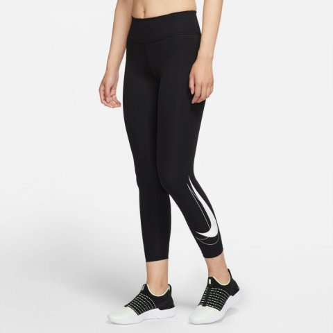 Nike Dri-FIT Swoosh Run/ Women's Mid-Rise 7/8 Running Leggings
