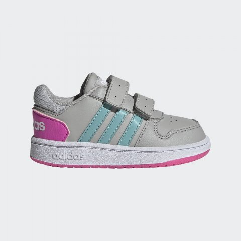 ADIDAS HOOPS 2.0 CMF I GRETWO/MINTON/SCRPNK