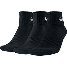 Nike Unisex Nike Performance Cushion Quarter Training Sock (3 Pair)