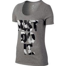 Nike Women's Nike sportswear TEE Scoop Just Do It  Print