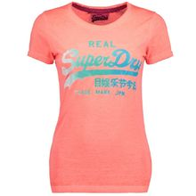 Superdry Superdry Vintage Logo Burn Out TEE