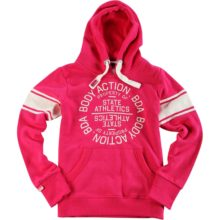 Body Action Body Action Women Active Hoodie L.FUCHSIA