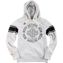 Body Action Body Action Women Active Hoodie L.MEL.GREY