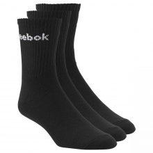 Reebok  Reebok Roy U Crew Sock 3x2 Black