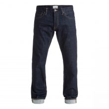 "Quiksilver QuikSilver Revolver Rinse 34"" Straight Fit Jeans"