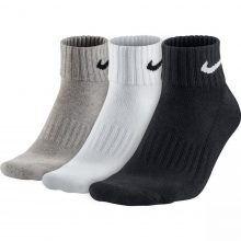 Nike Unisex Nike Cushion Quarter Training Sock (3 Pair)