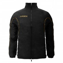 Legea Legea Rain Jacket Ciclone (Black - Gold)
