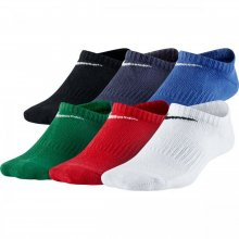 Nike Kids' Nike Performance Lightweight No-Show Training Socks (6 Pair)