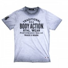 Body Action Body Action Men Over Dyed T-Shirt