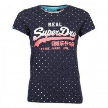 Superdry Superdry Vintage Logo Overdyed AOP TEE
