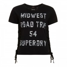 Superdry Superdry Colorado Lace Up TEE