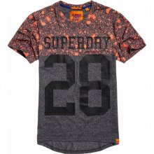 Superdry Superdry City Number Long Line Tee