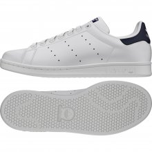 adidas Originals ADIDAS STAN SMITH CWHITE/CWHITE/DKBLUE