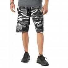 Body Action Body Action Men Burnout Shorts