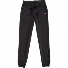 Body Action Body Action Women Regular Fit Pants (Black)