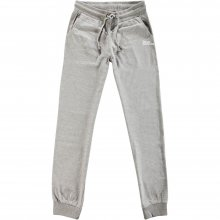 Body Action Body Action Women Regular Fit Pants (L.MEL.GREY)