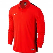 Nike Nike Dri Fit Polo Long Sleeve Red