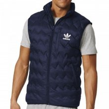 adidas Originals Adidas Mens Serrated Vest (Dark Blue)