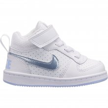 Nike Girls' Nike Court Borough Mid (TD) Toddler Shoe