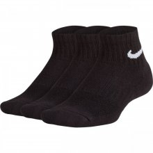 Nike Kids' Nike Performance Cushioned Quarter Training Socks (3 Pair)