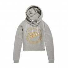 Superdry Superdry Ace Metallic Crop Hood