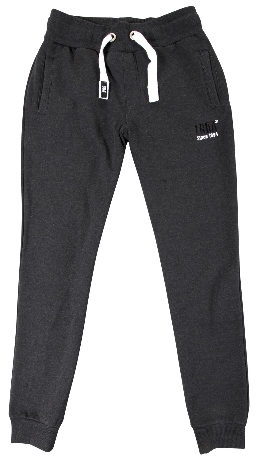 Body Action Body Action Men Sport Fleece Joggers (Black)